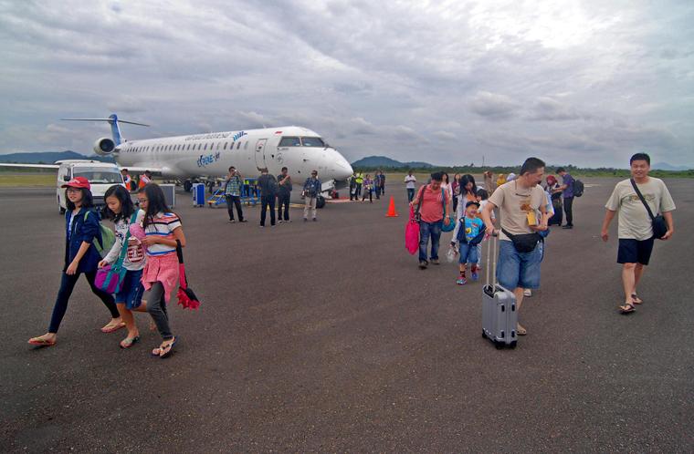 LAMPUNG POST   Status Bandara Internasional Belitung akan Dialihkan ke Lampung?
