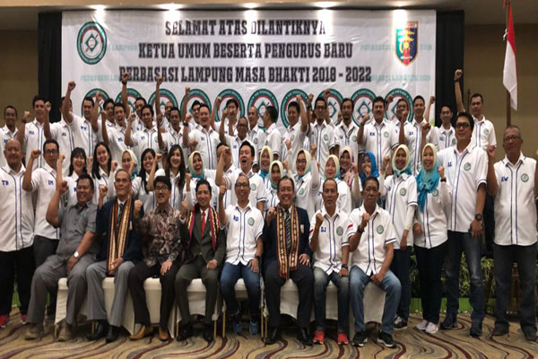 Rahmat Mirzani Djausal Kembali Pimpin Perbasasi Lampung