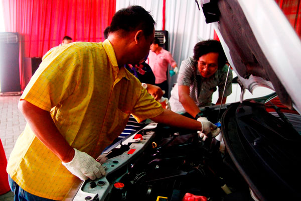 LAMPUNG POST | Daihatsu Gelar Pelatihan Otomotif untuk Jurnalis