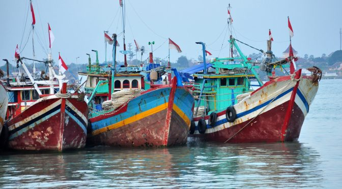 LAMPUNG POST   Kapasitas Mesin Kapal Nelayan di Lampung Timur Dicek Ulang