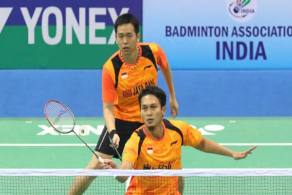 Comeback Manis Duet Ahsan/Hendra di India Open