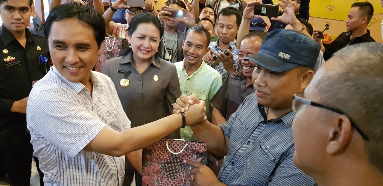 LAMPUNG POST | Pesta Rakyat di Tulangbawang Hadirkan Cita Citata dan Popo Thalia