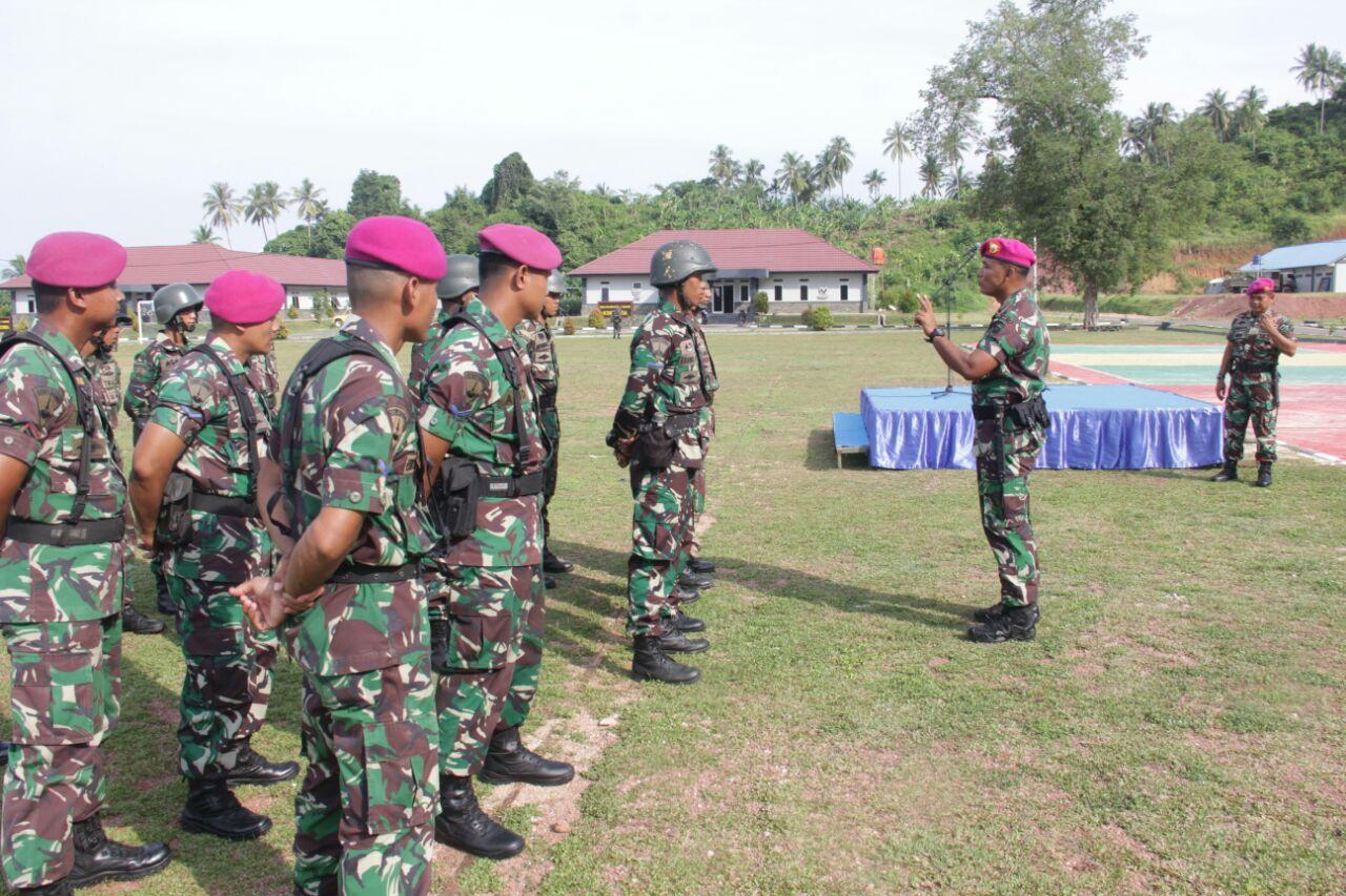 LAMPUNG POST | 10 Prajurit Tamtama Remaja Perkuat Batalyon Infanteri-7 Marinir