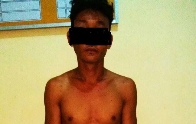 Mabuk dan Menganiaya, Pemuda Ini Harus Mendekam di Mapolsek Sragi