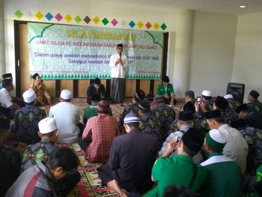 LAMPUNG POST | Ormas Islam Deklarasi Tolak Radikalisme