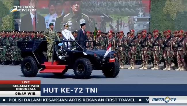 LAMPUNG POST | Presiden: Politik TNI adalah Politik Negara