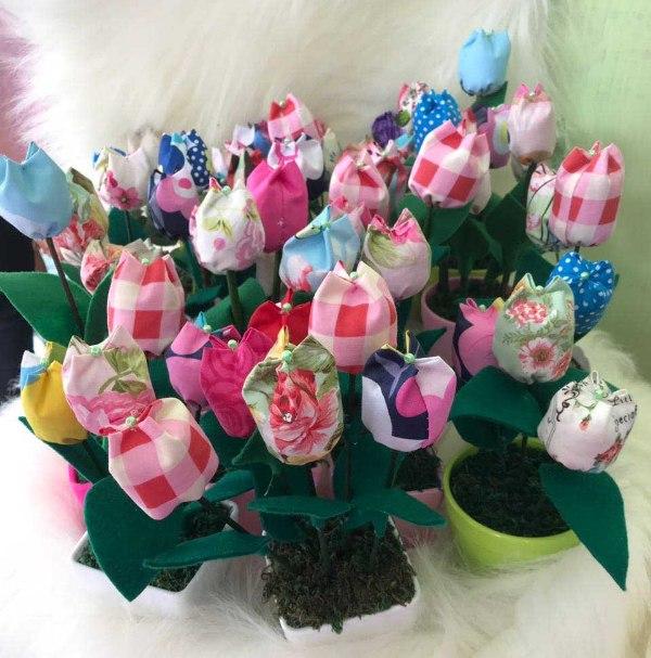 LAMPUNG POST | Menyemai Usaha Tulip Perca