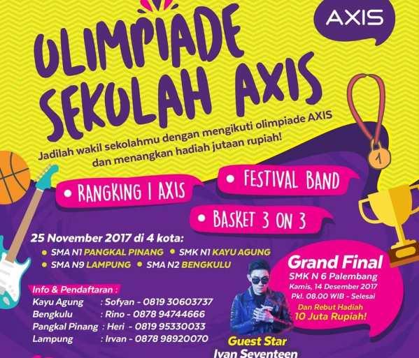 LAMPUNG POST | XL Axiata Gelar Olimpiade Sekolah Axis