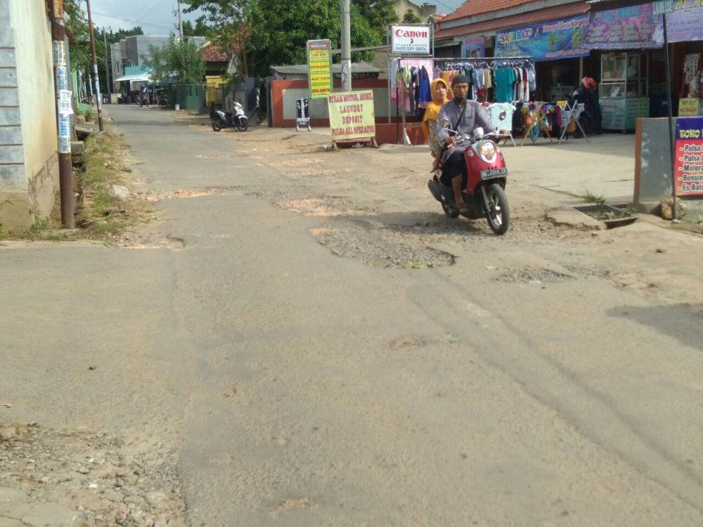 Perbaikan Jalan di Bandar Lampung Rampung Agustus
