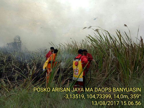 LAMPUNG POST | Antisipasi Kebakaran Hutan, KLHK Siagakan 2.100 Personel Manggala Agni