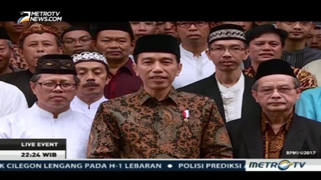 LAMPUNG POST | Presiden dan Wapres Salat Id di Istiqlal