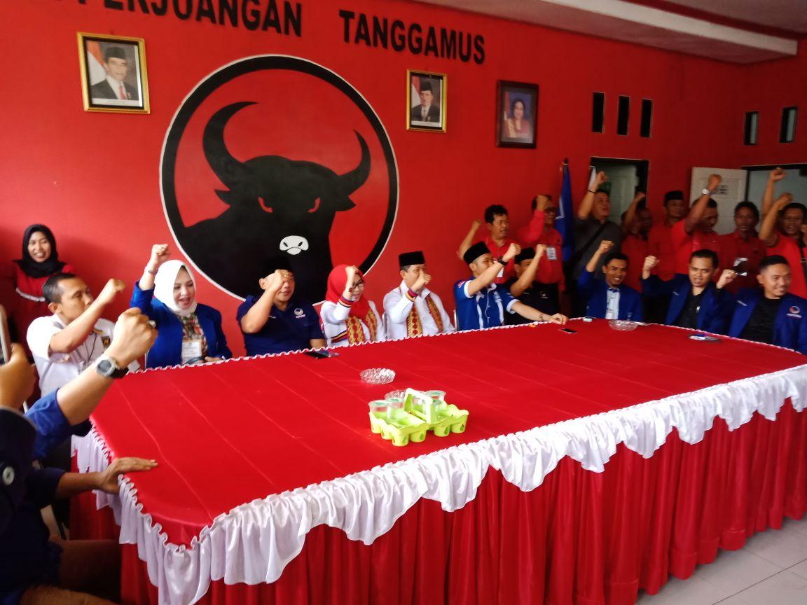 LAMPUNG POST | AM Syafii Hadiri Kampanye Herman HN di Tanggamus