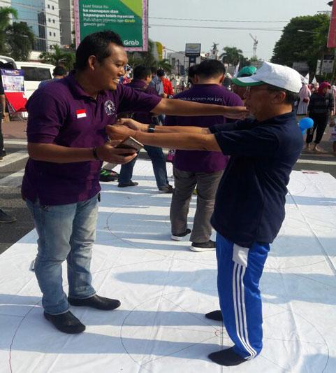 IFI Lampung Gelar Tes Kesehatan Gratis