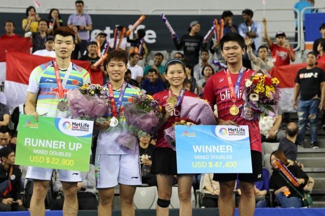 LAMPUNG POST   Indonesia Raih Dua Gelar di Korea Open 2017