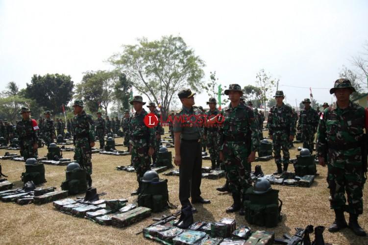 450 Pasukan TNI AD Siap Menjaga Perbatasan Papua