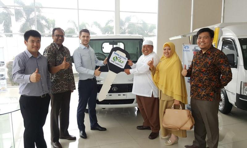 LAMPUNG POST   GLFI Resmi Biayai Konsumen Tata Motors di Lampung