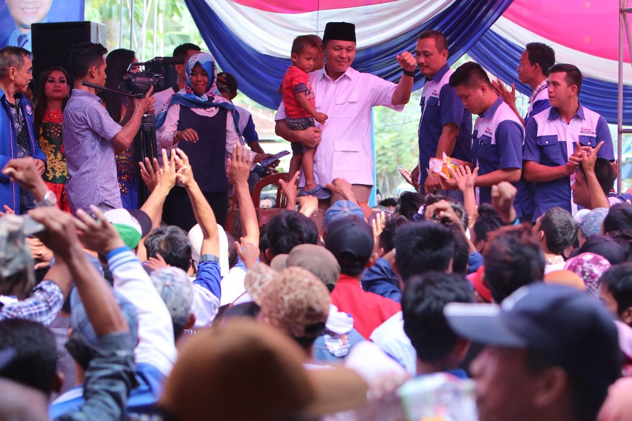 LAMPUNG POST   Maju Pilgub, Mustafa Siap Bangun Jalan Kampung di Seluruh Penjuru Lampung