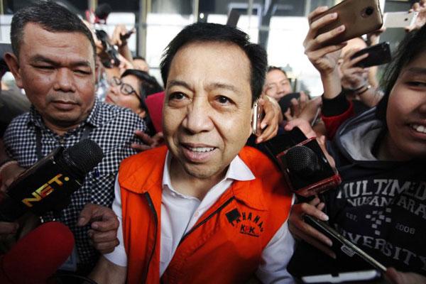 LAMPUNG POST | Novanto Bakal Ungkap Aktor Besar Kasus KTP-El