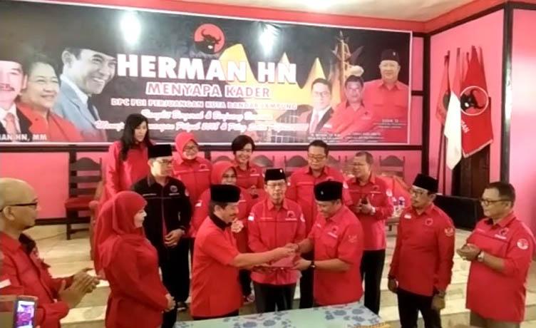 LAMPUNG POST | VIDEO: Herman HN Konsolidasi Kader PDIP Bandar Lampung