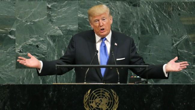 LAMPUNG POST | Trump Sebut akan Keluarkan Lebih Banyak Sanksi untuk Korut