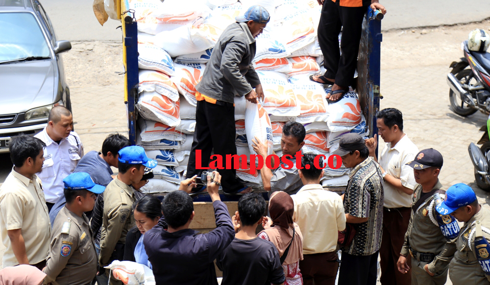 LAMPUNG POST | Operasi Pasar Serentak di Tujuh Pasar Tradisional Bandar Lampung