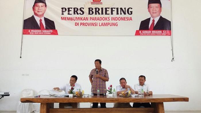 Gerindra Tahan Rekomendasi Pilgub Lampung