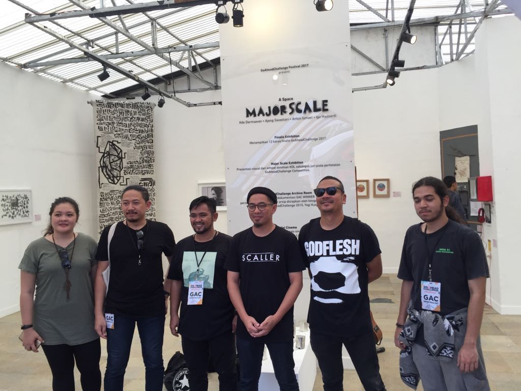LAMPUNG POST | Beragam Karya Seni Berpadu di Go Ahead Challengedi Saburai