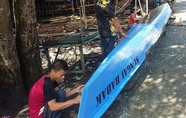 Warga Sungai Badak Siap Meriahkan Lomba Perahu Dayung
