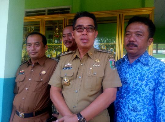 Wakil Bupati Lamtim Harapkan Keamanan Kepada Kapolda Baru