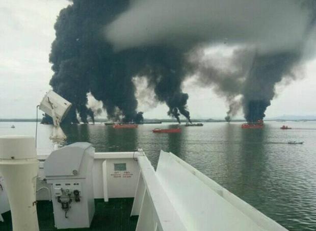 Dua Nelayan Tewas Akibat Kebakaran Tumpahan BBM