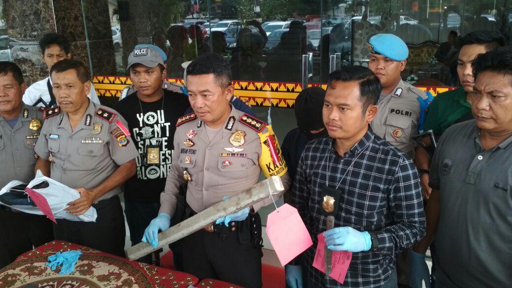 Pembunuh Buruh Toko Material Asal Riau Mengkau Dendam