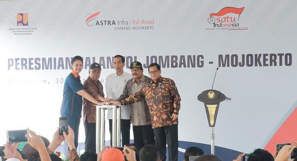 LAMPUNG POST   Presiden Resmikan Tol Jombang-Mojokerto