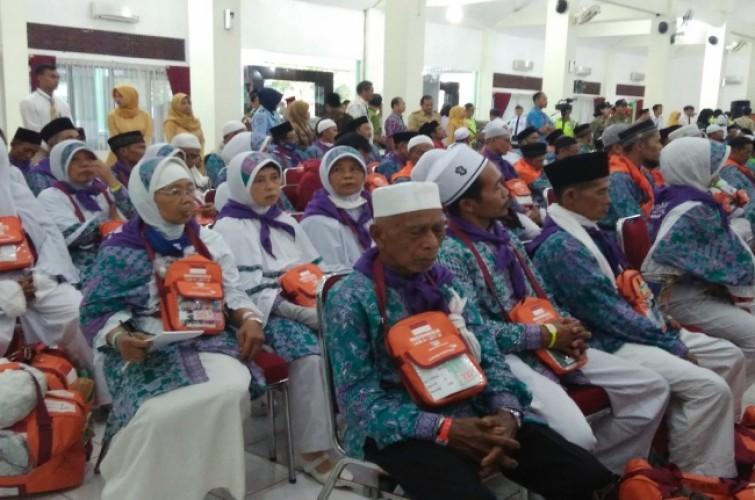 487 Calon Jamaah Haji Metro Siap Berangkat