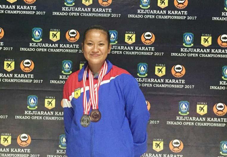 LAMPUNG POST | Karateka Lampung Gagal Ikuti Asian Games 2018