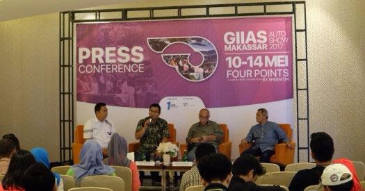 LAMPUNG POST | Makassar Jadi Kota Pembuka Seri Pameran GIIAS 2017