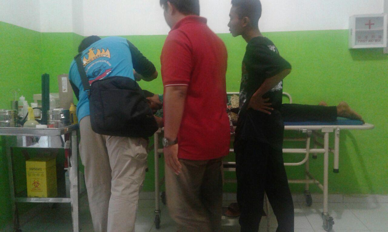 LAMPUNG POST | Polisi Selidiki Motif Penganiayaan Lurah Mulyaasri