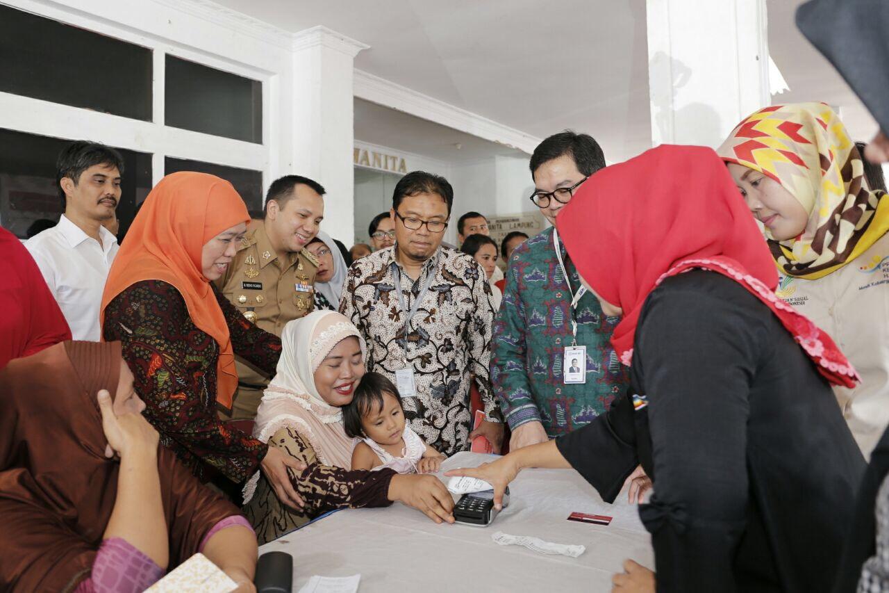 LAMPUNG POST | Menteri Sosial dan Gubernur Lampung Sepakat BPNT Tuntas November