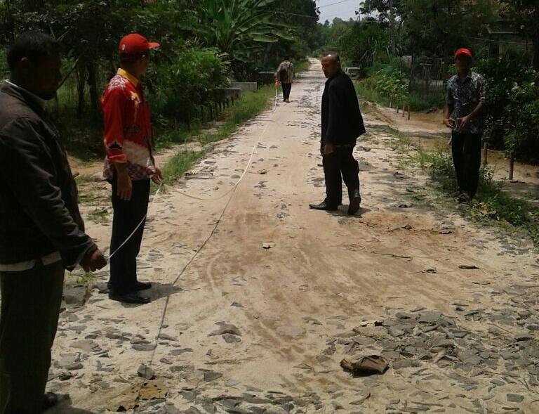 LAMPUNG POST | TPK Tiyuh Marga Kencana Paparkan Pengunaan Dana Desa Tahap Pertama