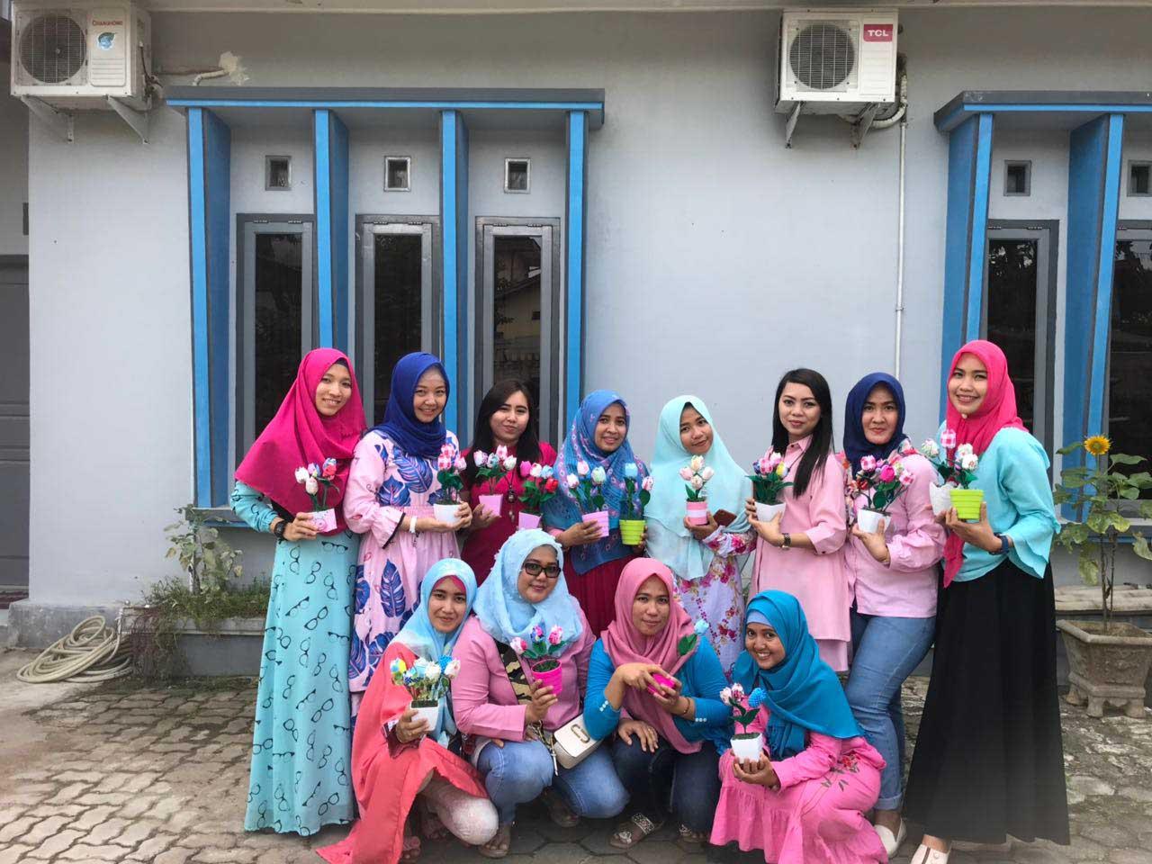 LAMPUNG POST | Uplod DIY Bangun Kreativitas Ibu Muda