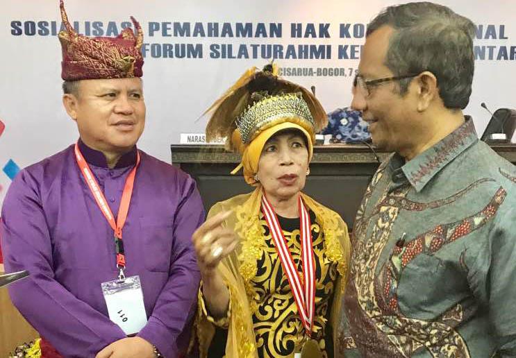 LAMPUNG POST   Raja-Raja Se-Nusantara Menjadi Perekat Persatuan Bangsa