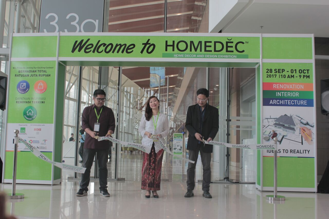 Pameran HOMEDEC Berikan Tips dan Praktek Interior Rumah Terbaik
