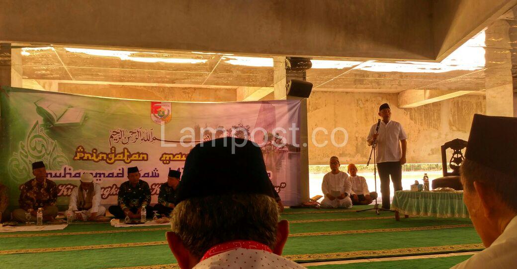 LAMPUNG POST | Perjuangan Nabi Muhammad Jadi Motivasi Pembangunan Pemkab Tubaba