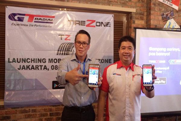 LAMPUNG POST | GT Radial Luncurkan Aplikasi Tirezone