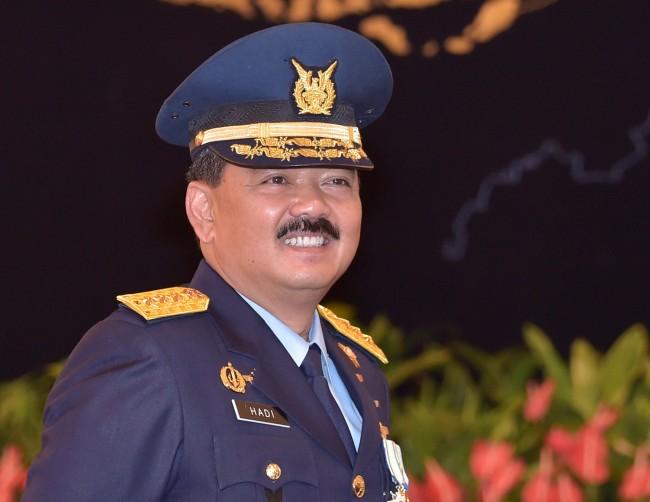 Marsekal Hadi Enggan Bicara Soal Peluang Jadi Panglima TNI