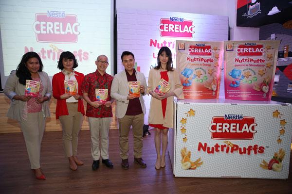 LAMPUNG POST | Nestle Luncurkan Cerelac NutriPuffs