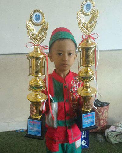 LAMPUNG POST | Muhammad Fikrul Hakim Rajin Mengaji