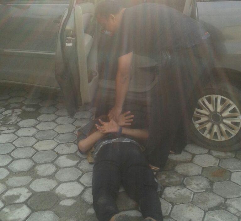 Kepergok Mencuri Motor, Pelaku Tersudut dan Akhirnya Dibekuk Polisi