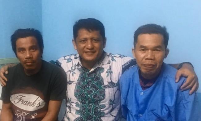 LAMPUNG POST | Dua WNI yang Bebas dari Penyanderaan Abu Sayyaf Segera Dipulangkan