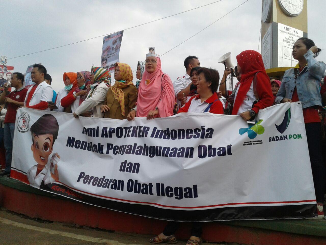 LAMPUNG POST | Gelar Aksi Simpatik, IAI Klaim Lampung Bebas Peredaran PCC