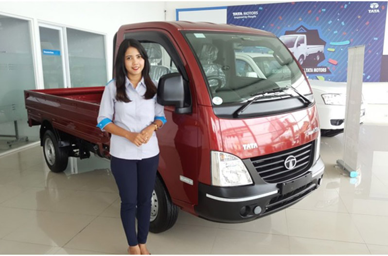 LAMPUNG POST | Tata Motors Resmi Pasarkan Super Ace HT di Lampung